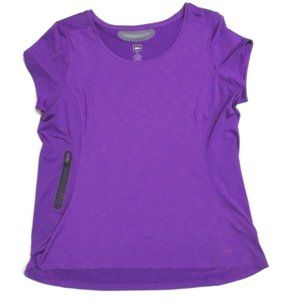 REI Women's Purple Short Sleeve Stretch Top XL